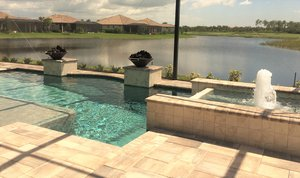 Custom Feature #131 by Fountain Pools and Water Features