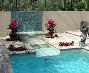 Custom Feature #132 by Fountain Pools and Water Features