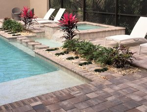 Custom Feature #133 by Fountain Pools and Water Features
