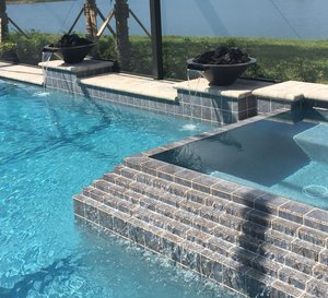 Custom Feature #134 by Fountain Pools and Water Features