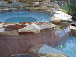 Finishing Touch #033 by Fountain Pools and Water Features