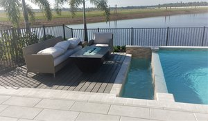 Outdoor Living #028 by Fountain Pools and Water Features