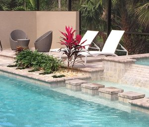 Outdoor Living #040 by Fountain Pools and Water Features
