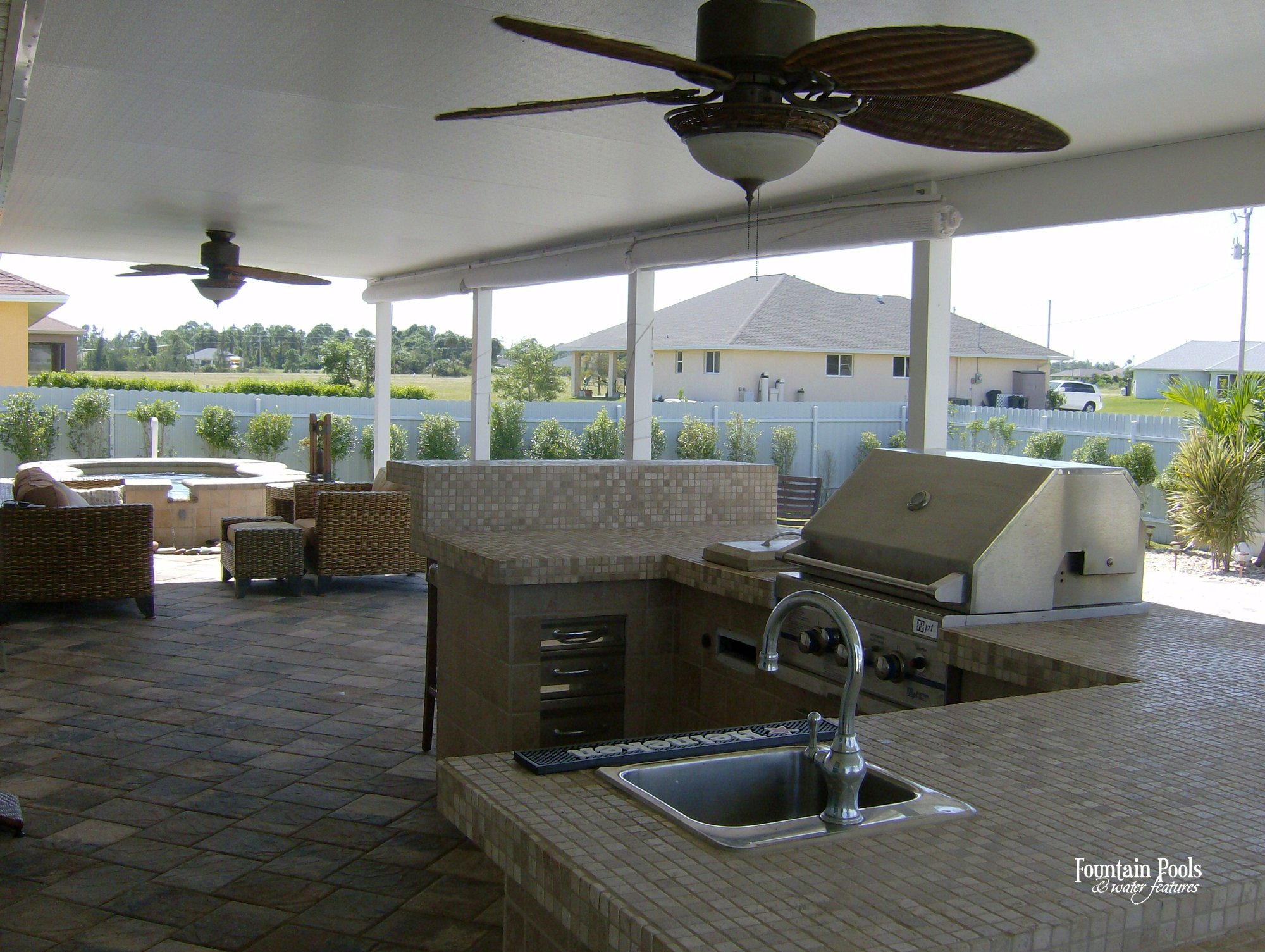 Outdoor Living 001 By Fountain Pools And Water Features