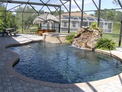 Residential Pool #002 by Fountain Pools and Water Features