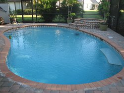 Residential Pool #003 by Fountain Pools and Water Features