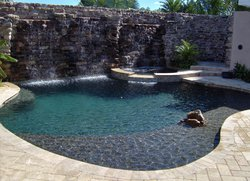 Residential Pool #007 by Fountain Pools and Water Features