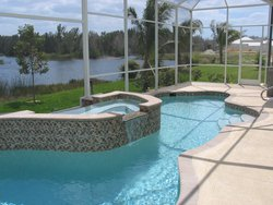 Residential Pool #021 by Fountain Pools and Water Features