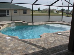 Residential Pool #027 by Fountain Pools and Water Features