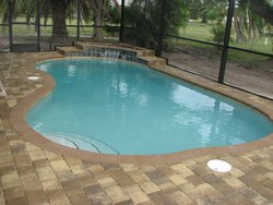 Residential Pool #029 by Fountain Pools and Water Features