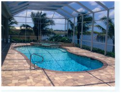 Residential Pool #037 by Fountain Pools and Water Features