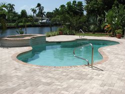 Residential Pool #039 by Fountain Pools and Water Features