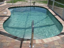 Residential Pool #042 by Fountain Pools and Water Features