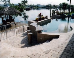Residential Pool #047 by Fountain Pools and Water Features