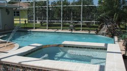 Residential Pool #048 by Fountain Pools and Water Features