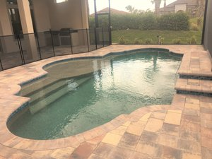 Residential Pool #081 by Fountain Pools and Water Features