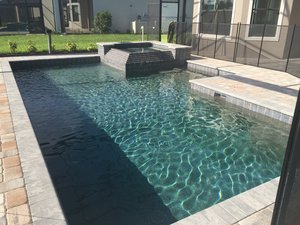 Residential Pool #083 by Fountain Pools and Water Features