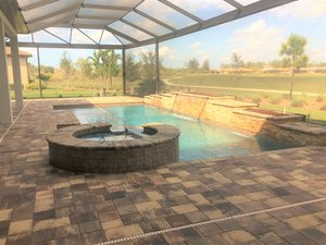 Residential Pool #086 by Fountain Pools and Water Features