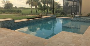 Residential Pool #089 by Fountain Pools and Water Features