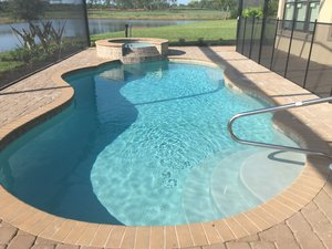 Residential Pool #091 by Fountain Pools and Water Features