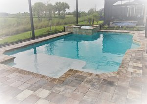 Residential Pool #093 by Fountain Pools and Water Features