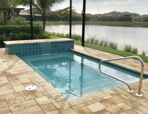 Residential Pool #107 by Fountain Pools and Water Features